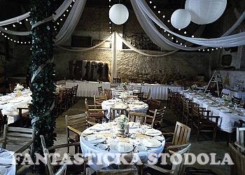 Hotel LONY - svatební stodola
