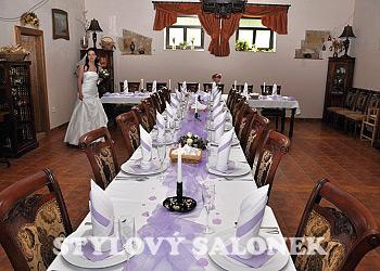 Hotel LONY - svatební salonek