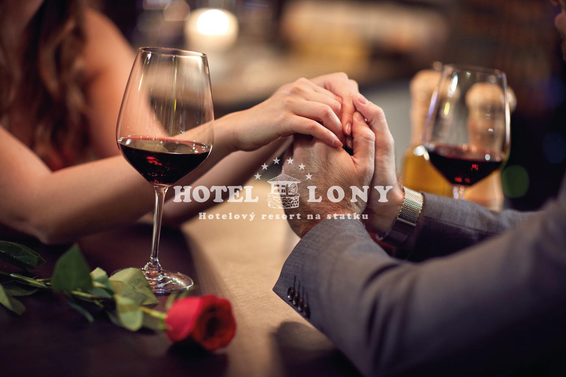 Valentýn v hotelu LONY